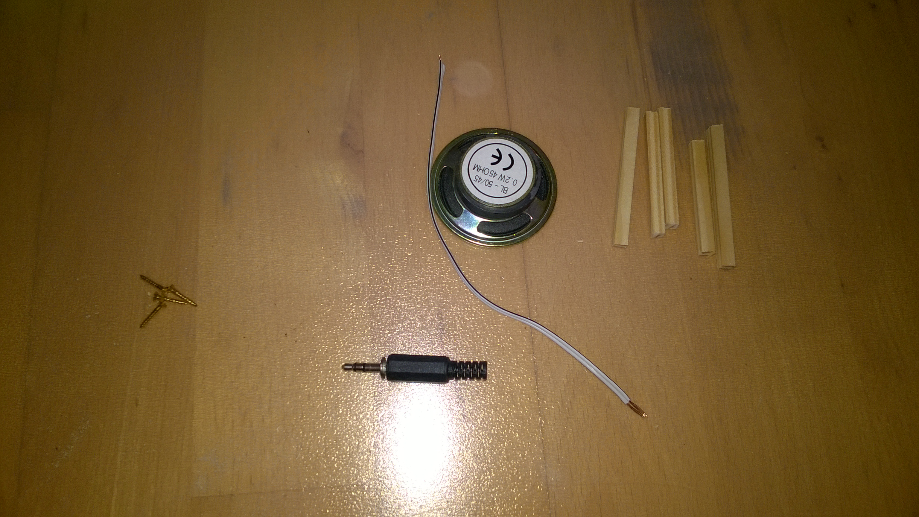 Komponenten für Lautsprecher
