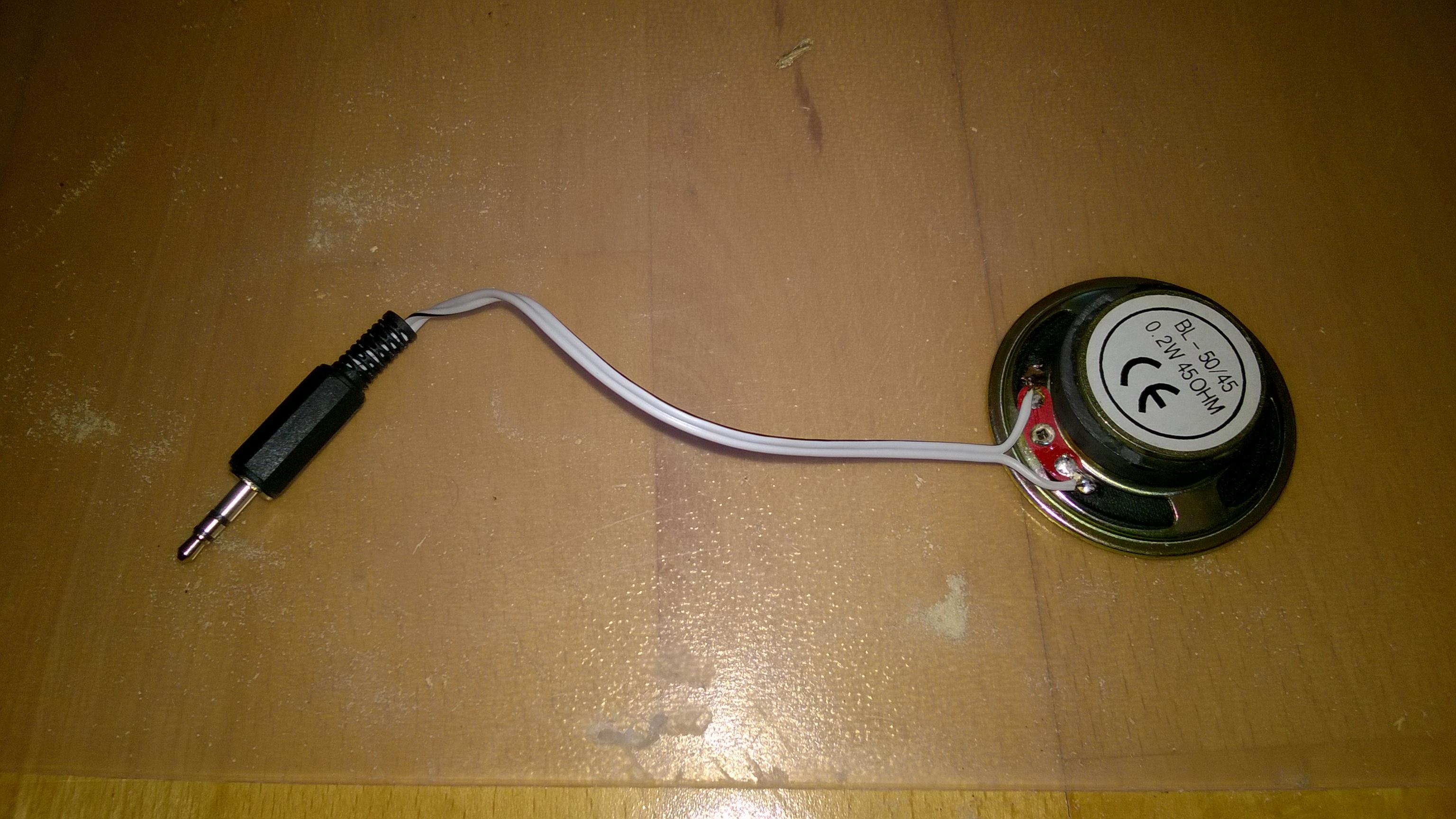 Bauen des Lautsprechers